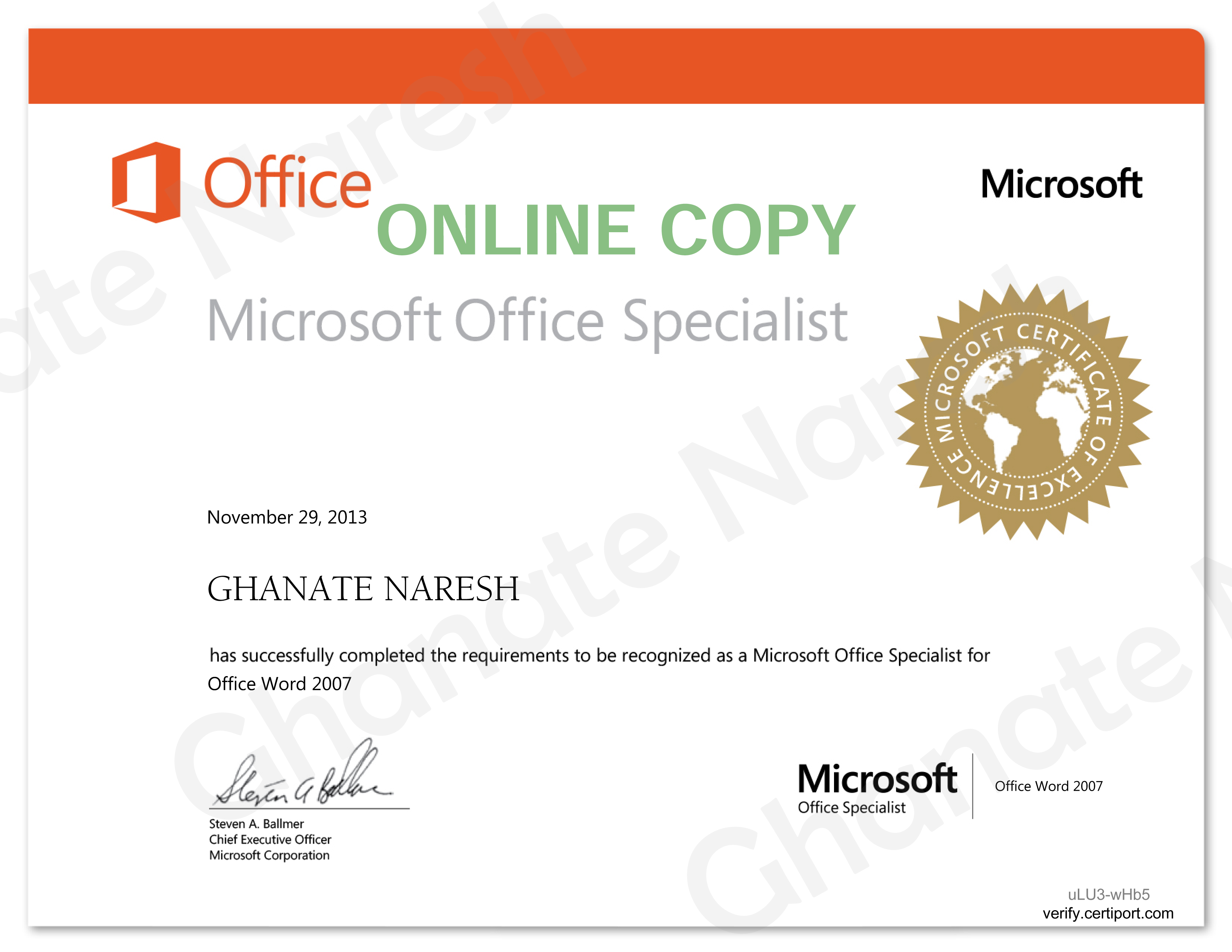 how to make a certificate in microsoft word 2013